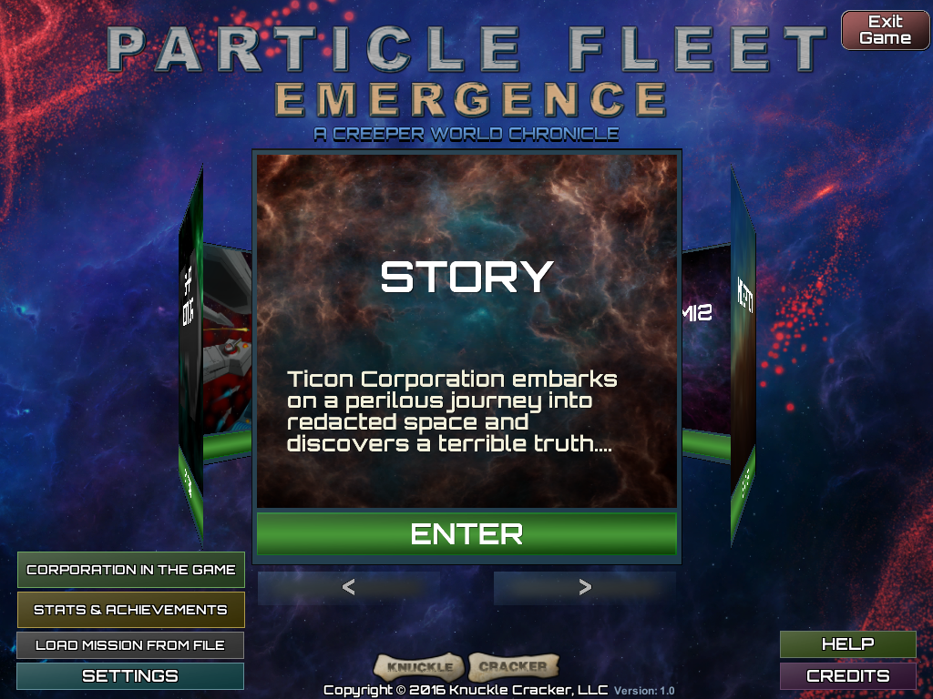 Particle Fleet Launched!