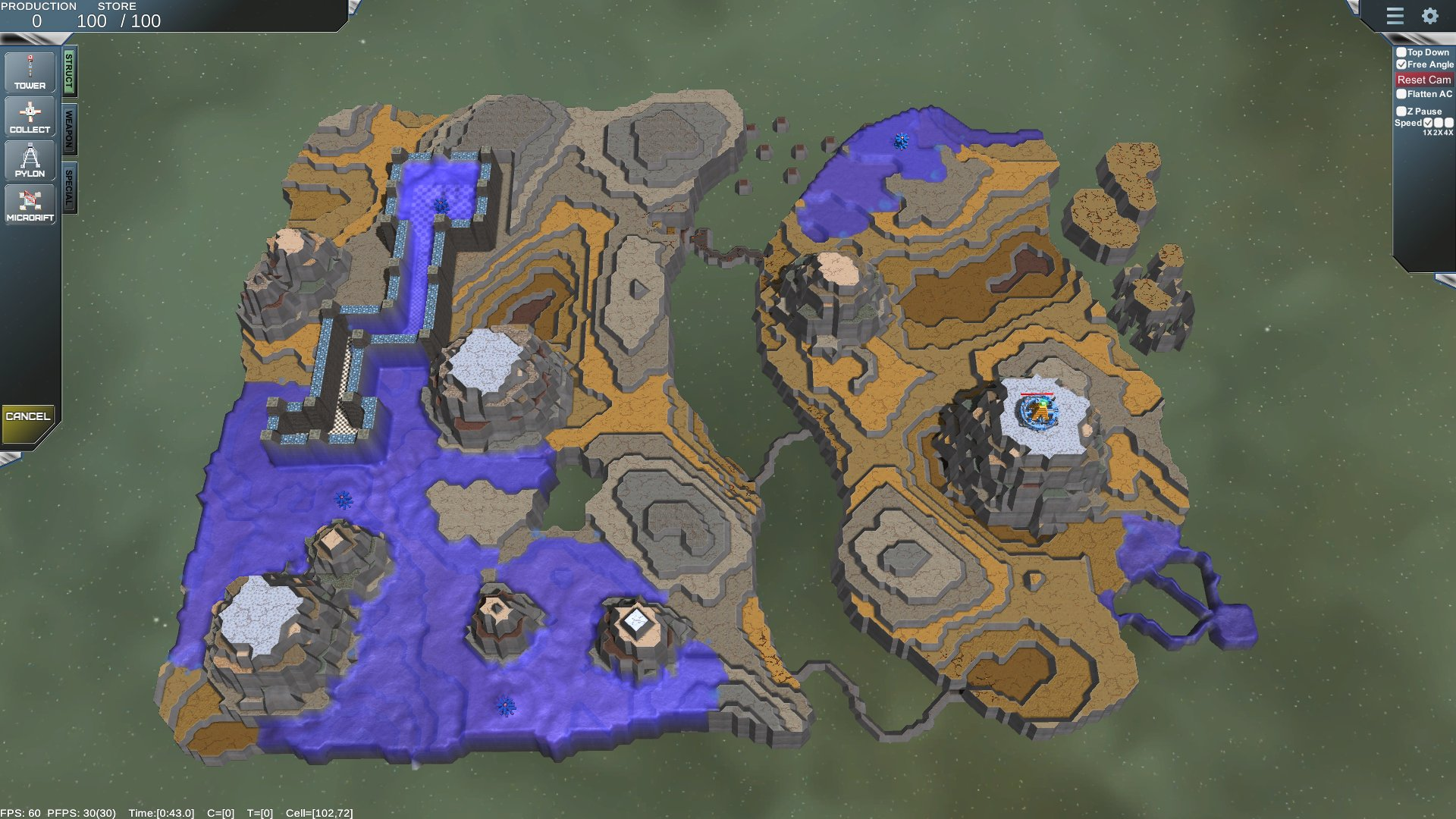 The statue inside below are some screen shots of a test map ive made it shows irregular terrain various textures applied to different areas with different scales gumiabroncs Image collections