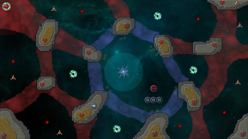 Custom Map #1343: Deep Space Infant. By: Decagon on
