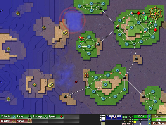 Creeper world user space knuckle cracker play